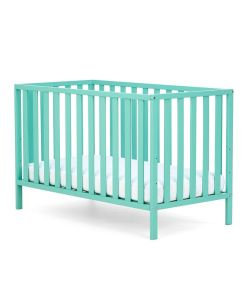 Unisex kids room Scandi mothercare apsley cot green