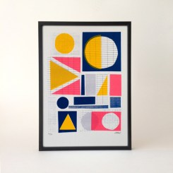 Dilly and the boo blog art inspired decor Midland Screen Print Marcus Walters