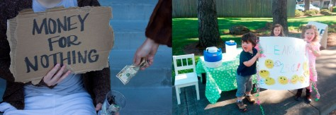 Panhandling vs lemonaid