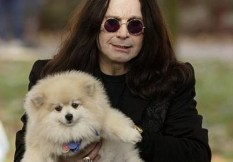 Ozzy Osbourne and Little Bit