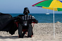 Darth Vader on a Dark Holiday