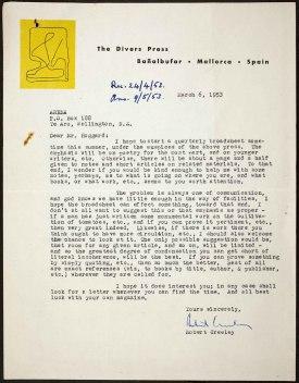 Επιστολή του Κρίλι στον Νόελ Χόγκαρτ