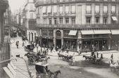 Crossroad in Paris