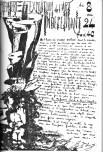 Από τον κατάλογο της πρώτης έκθεσης της ομάδας, το 1940. Κείμενο του Henein, σχέδια του Fuad Kamel.