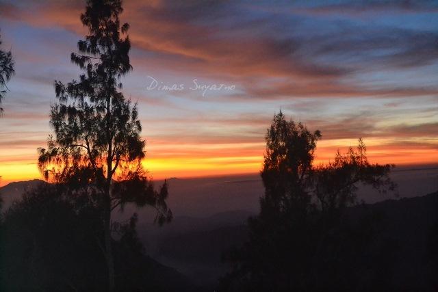 Sunrise puncak Penanjakan I