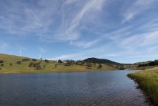 View of Carcoar Lake (NSW)