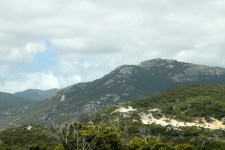 Wilsons Promontory- Mt Oberon on right (Vic)