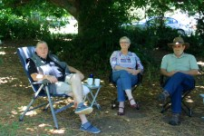 Under the Chestnut Tree - Ian, Lesley and Pete (Vic)