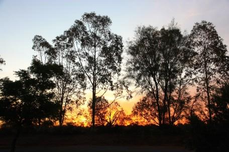 Bourke - Sunset (NSW)