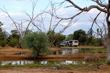 Bowra Wildlife Reserve - Lagoon (Qld)