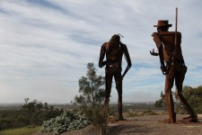 Kimba - White Knob Lookout - Edward John Eyre Sculptures (SA)