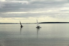 Port Lincoln - Waiting For The Wind On Boston Bay (SA)