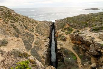 Whalers Way - Theakstone Crevasse (SA)