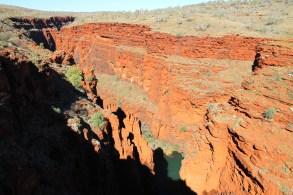 Karijini National Park - Junction Pool - Four Gorges Meet Here (WA)