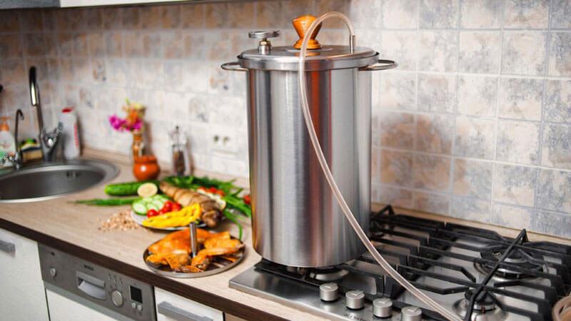 рецепт приготовления курицы в коптильне горячего копчения