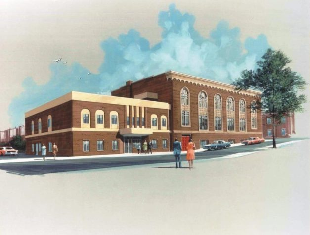 Rendering of Proposed Addition