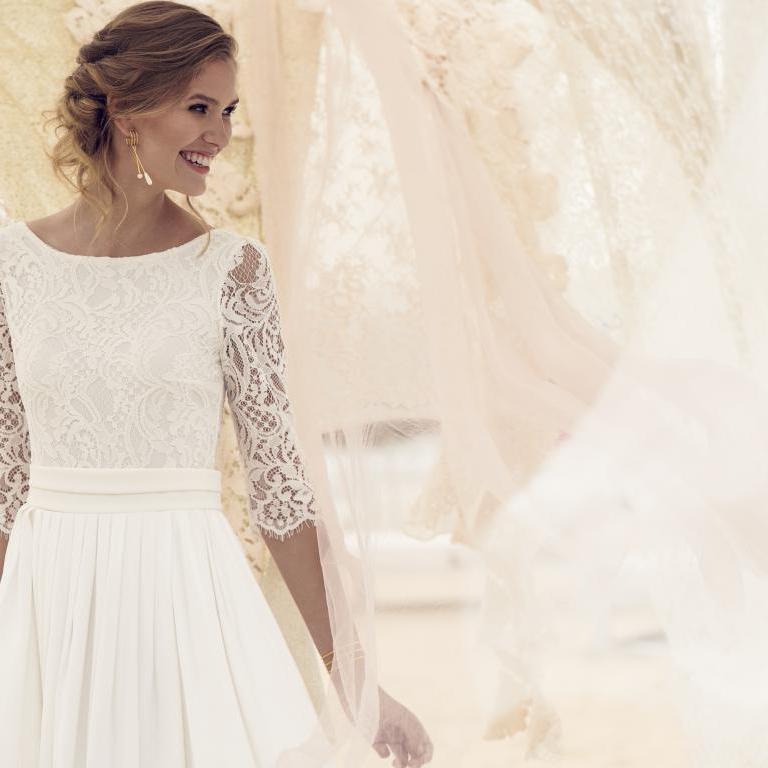 Rembo Styling 2019 Rose 2 hr - Vestidos de novia: La Núvia Pim Pam