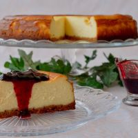 Tarta de queso al estilo NY. New York Cheesecake
