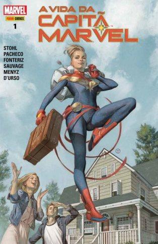 A Vida da Capitã Marvel foi publicado pela Panini em fevereiro de 2019