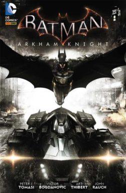 Capa da edição brasileira do volume 1 de Batman Arkham Knight, publicado pela Panini