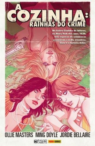 Capa brasileira de A Cozinha: Rainhas do Crime