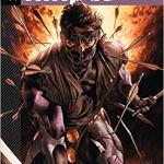 Capa do volume 1 de Ninjak, Armeiro, publicado pela Jambô Editora