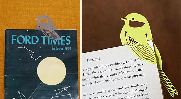 Penanda Halaman Buku Bentuk Burung