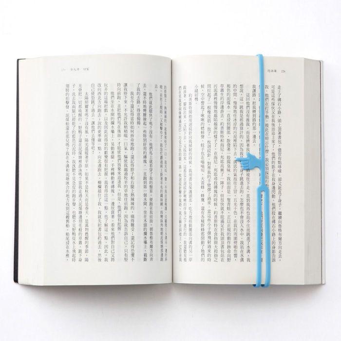 Pembatas Kertas Halaman Buku Bentuk Jari Telunjuk