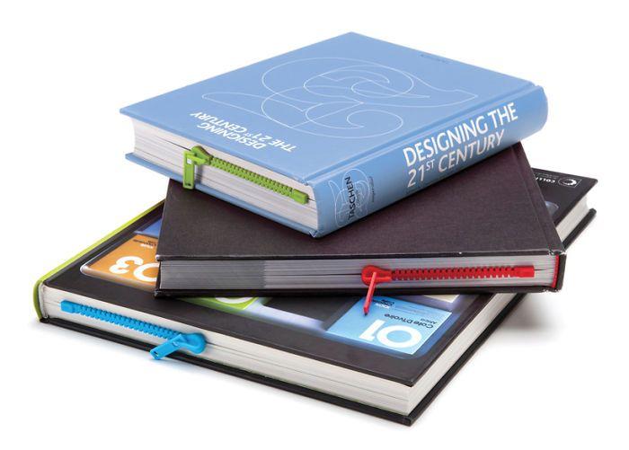 Penanda Halaman Buku Bentuk Resleting