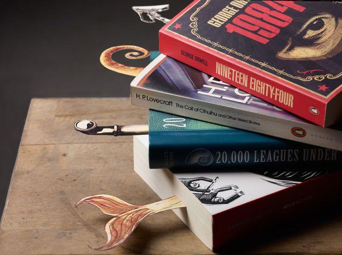 Penanda Halaman Buku Bentuk Untuk Buku Khusus