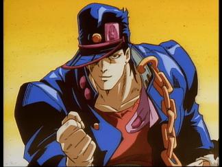 Jotaro en las OVA's de 1993