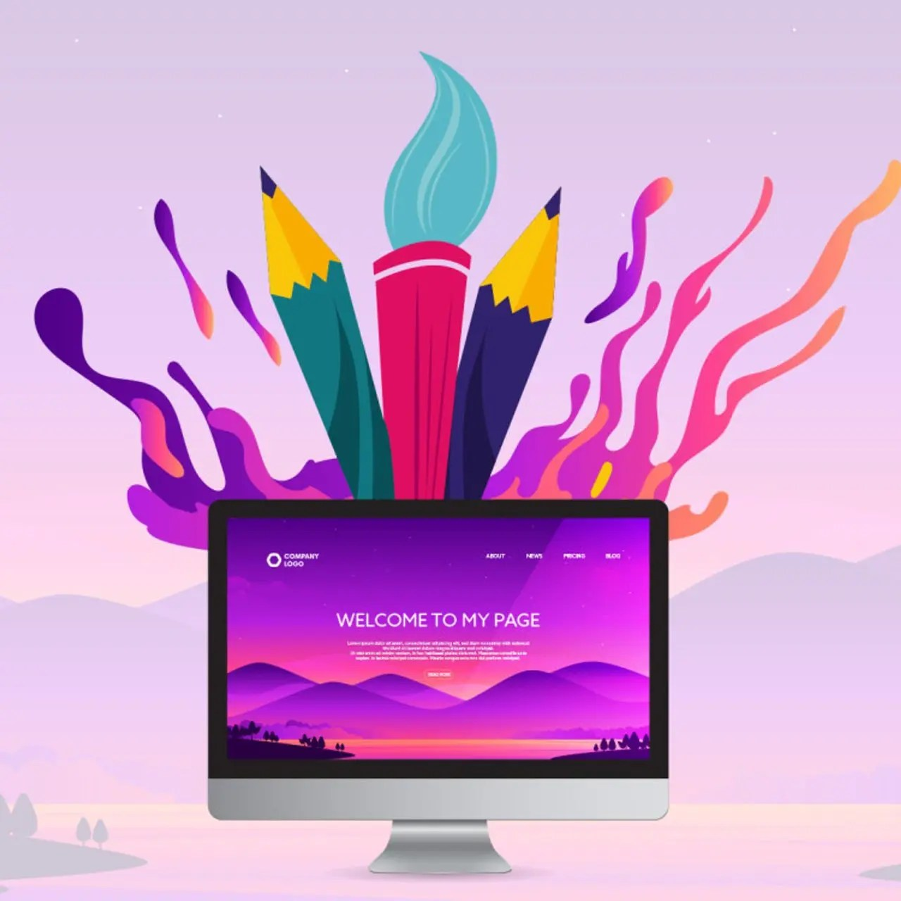 diseño web creativo