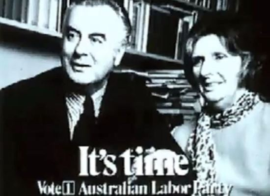 It's Time - one of the most successful election campaigns in Australia