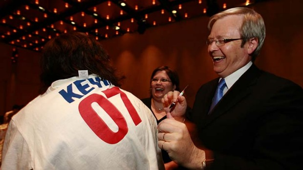 Kevin '07 - a memorable election campaign