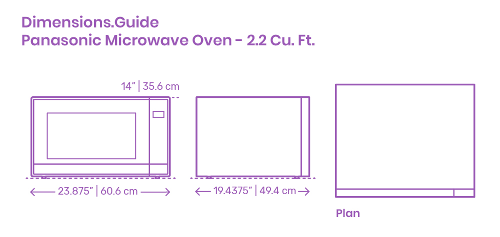 panasonic microwave oven 2 2 cu ft