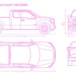 Ford F 150 2015 Dimensions Drawings Dimensions Com