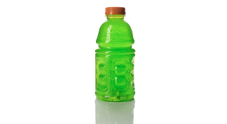 green sports drink