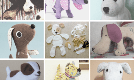 free printable dog toy sewing patterns