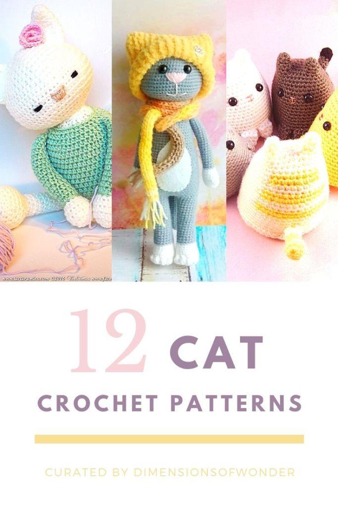 best free cat crochet patterns