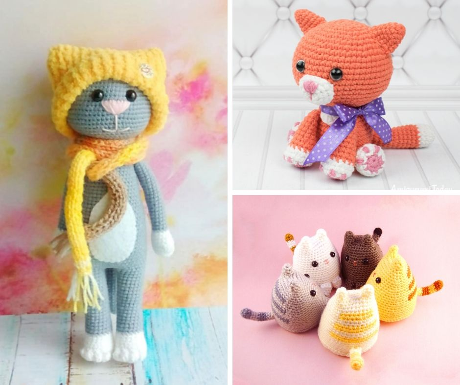 cat crochet pattern compilation best free patterns