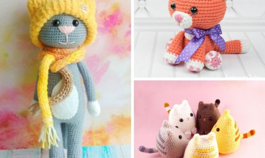 Crochet Cat Pattern Compilation: 12 Best Free Patterns & Tutorials