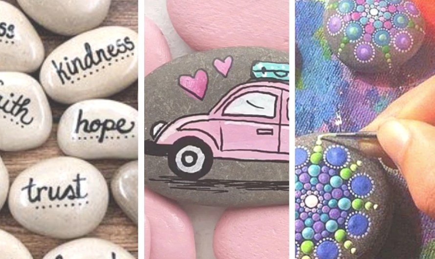 How to Paint Rocks: Materials + 10 Great Ideas for Inspiration!