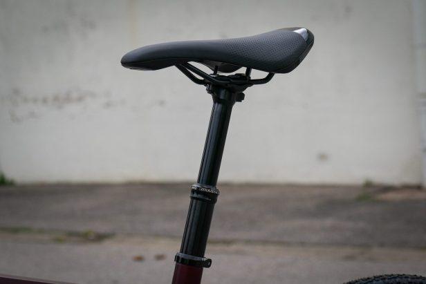 Tige de selle télescopique, Moustache bike Dimanche 29.3