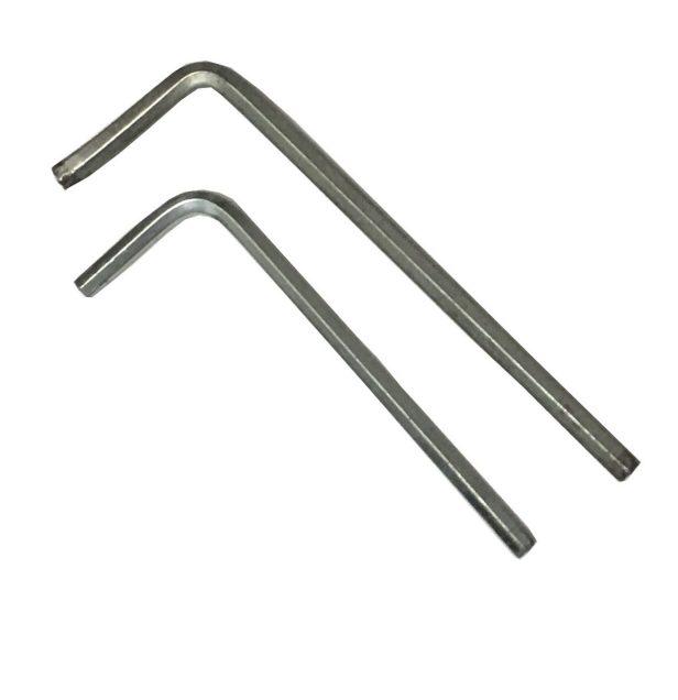 Clés Allen de 2,5 et 3 mm