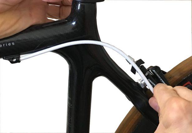 Test de la longueur des gaines de freins