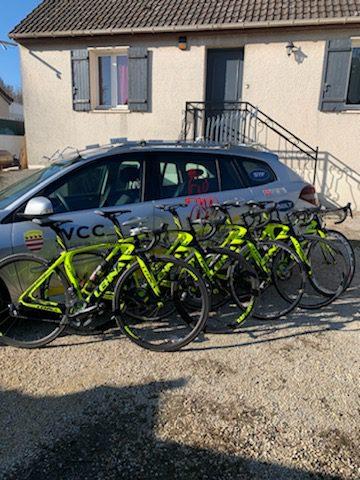 Vélos de services courses Lehna MF Carbon Cycles