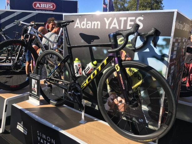 Scott Addict RC d'Adam Yates