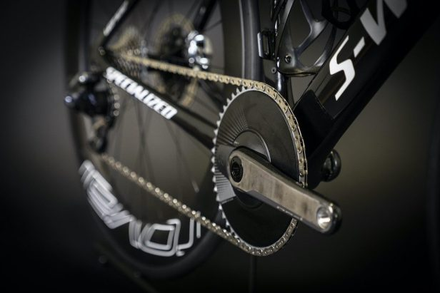 Transmission di vélo de Vincent Luis