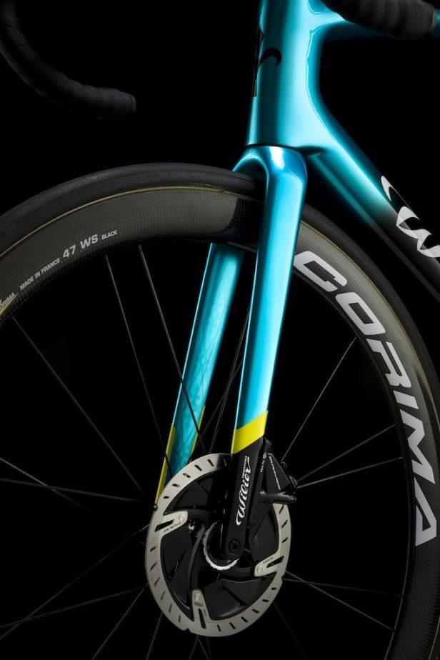Fourche Wilier Zero SLR Vélos Équipes Pros 2020