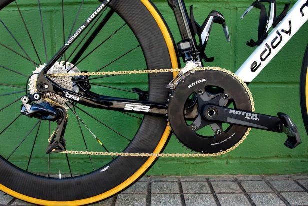 Transmission des Eddy Merckx 525 Vélos Équipes Pros 2020
